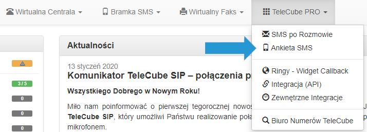 Ankieta SMS TeleCube