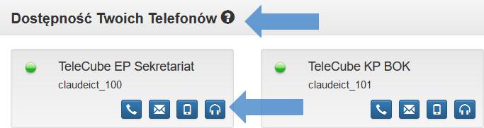 Ikonka funkcji Monitorowanie rozmów