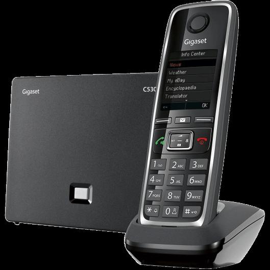 Telefon IP bezprzewodowy Gigaset C530IP
