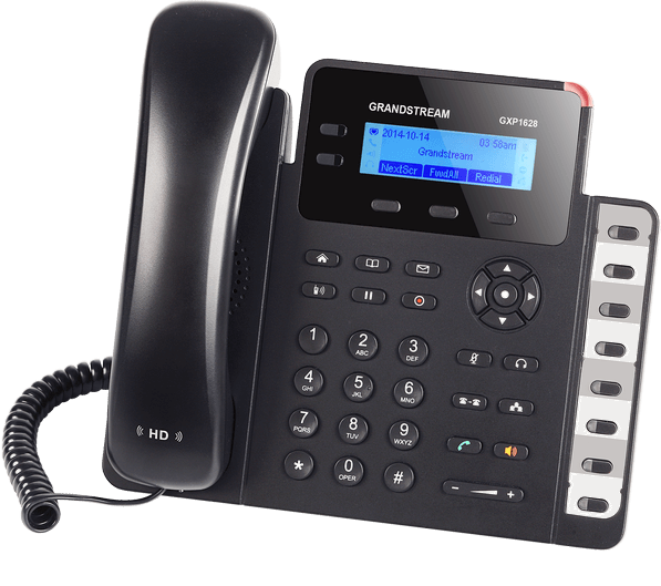 Telefon VoIP dosekretariatu Grandstream GXP1628