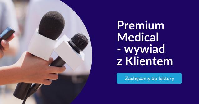 Premium Medical wywiad z Klientem TeleCube